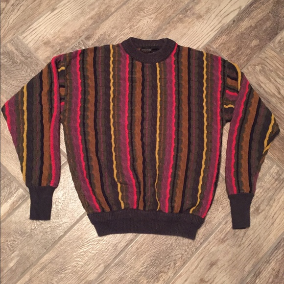 Structure Sweaters 90s Bill Cosby Sweater Poshmark